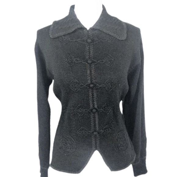 NILS Vintage Wool Fitted Sweater